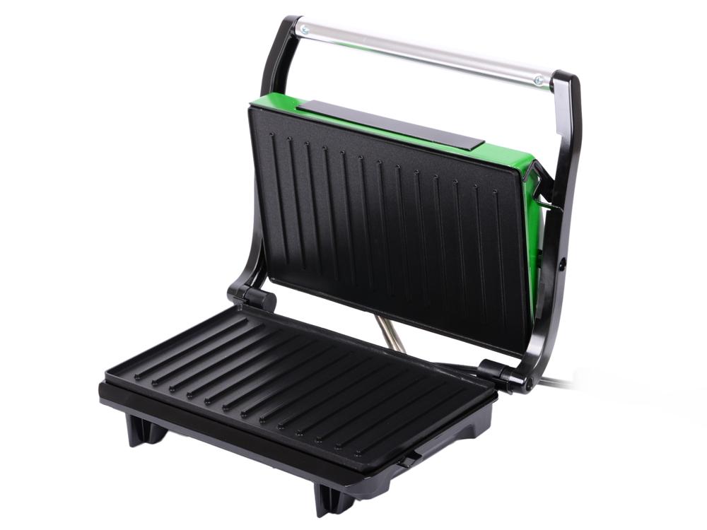 Сэндвичница Kitfort Panini Maker KT-1609-3 зелёный чёрный цена и фото