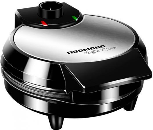 Вафельница Redmond RSM-M1408 700Вт черный/серебристый вафельница redmond rsm m1408 700вт