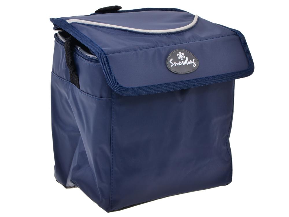 Сумка изотермическая Camping World Snowbag 5 л (цвет тёмно-синий, время сохранения температуры до 14 часов с применением ак/холода, регулируемый напл недорго, оригинальная цена
