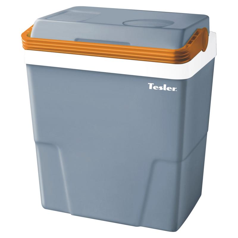 Термоэлектрический автохолодильник TESLER TCF-2212, 22 л., макс охлаждение 16-22° ниже температуры окр. среды (не ниже +5°), серый термоэлектрический автохолодильник camping world unicool 28l аккумуляторы холода