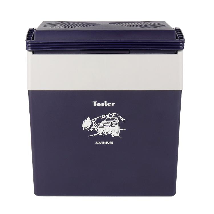 Термоэлектрический автохолодильник Tesler TCF-3012 черничный/серый 30 л