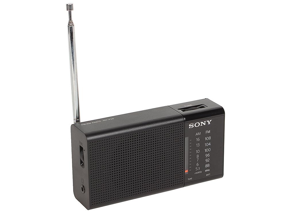 Радиоприемник SONY ICF-P36 Горизонтальный аналоговый FM / AM радиоприемник, Внешний динамик 100 мВт, Ремешок в комплекте,Гнездо для наушников,Тип испо sony icf 304 am fm analog portable table radio