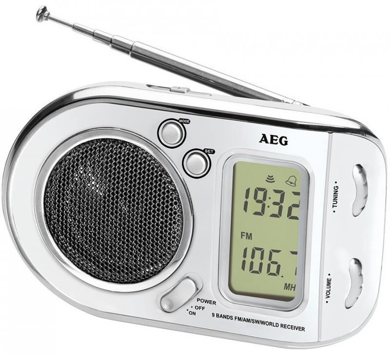 Радиоприемник AEG WE 4125 белый цена