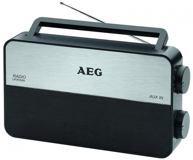 Радиоприемник AEG TR 4152 черный aeg fm6300gan