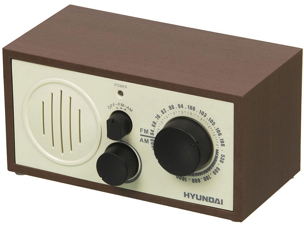 купить Радиоприемник Hyundai H-SRS120 вишня недорого