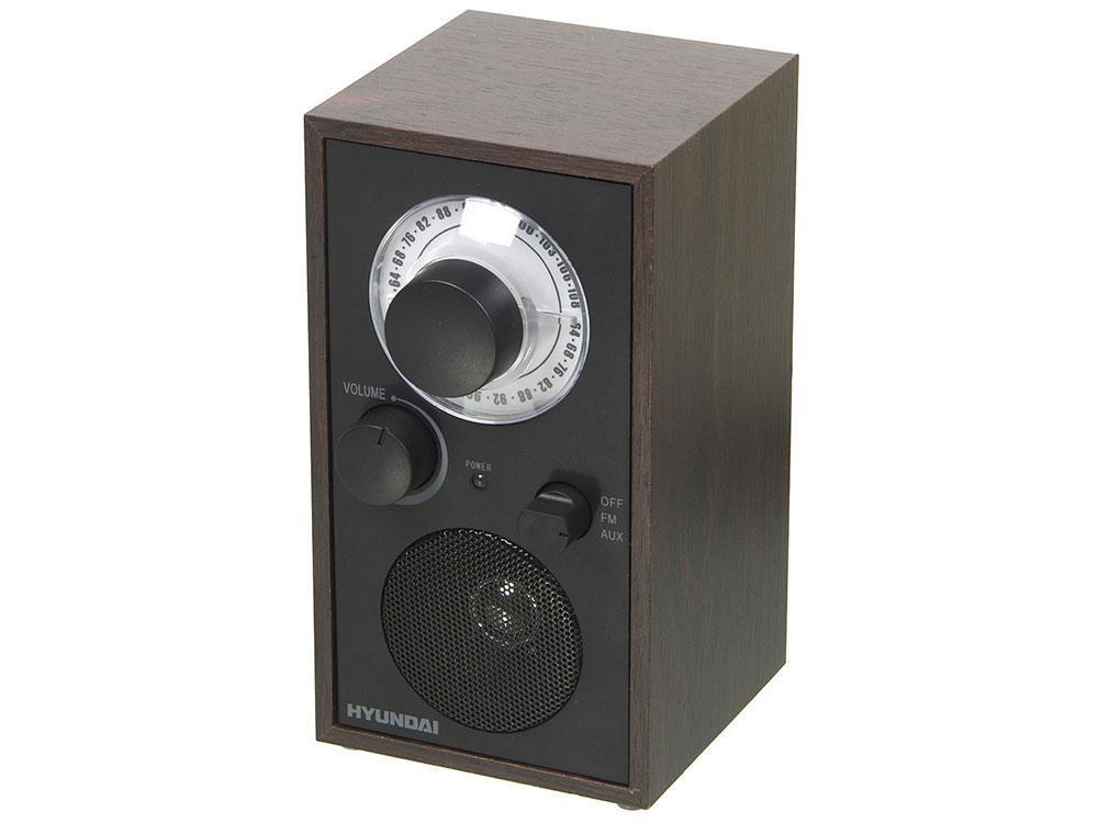 Радиоприемник Hyundai H-SRS140 венге цена и фото