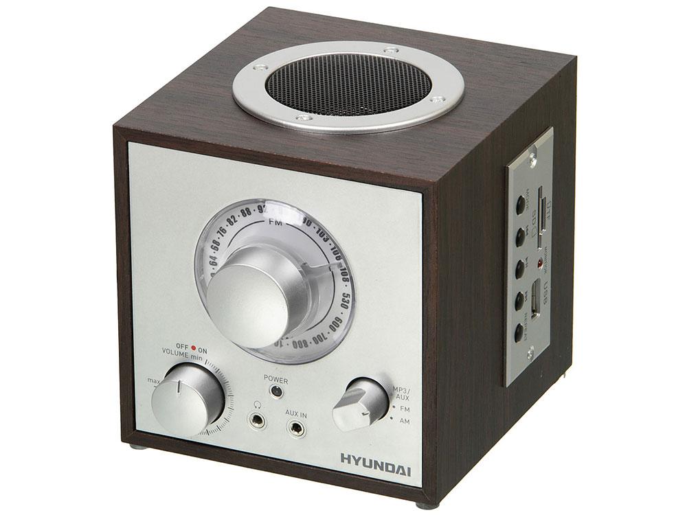 цена на Радиоприемник Hyundai H-SRS200 вишня