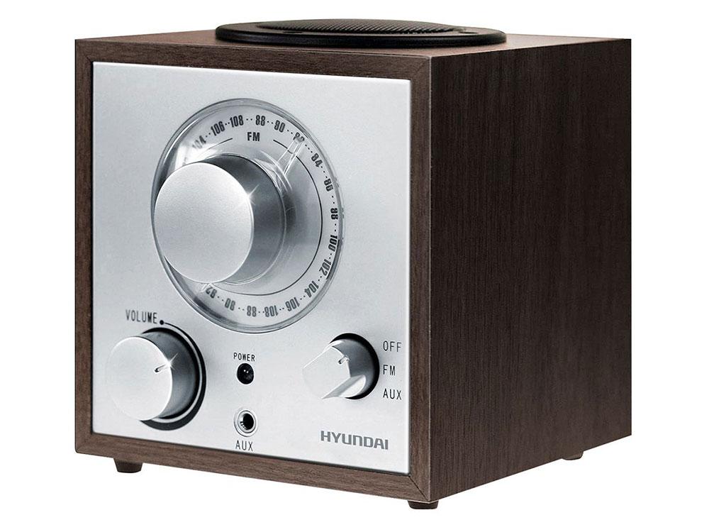 Радиоприемник Hyundai H-SRS100 венге цена