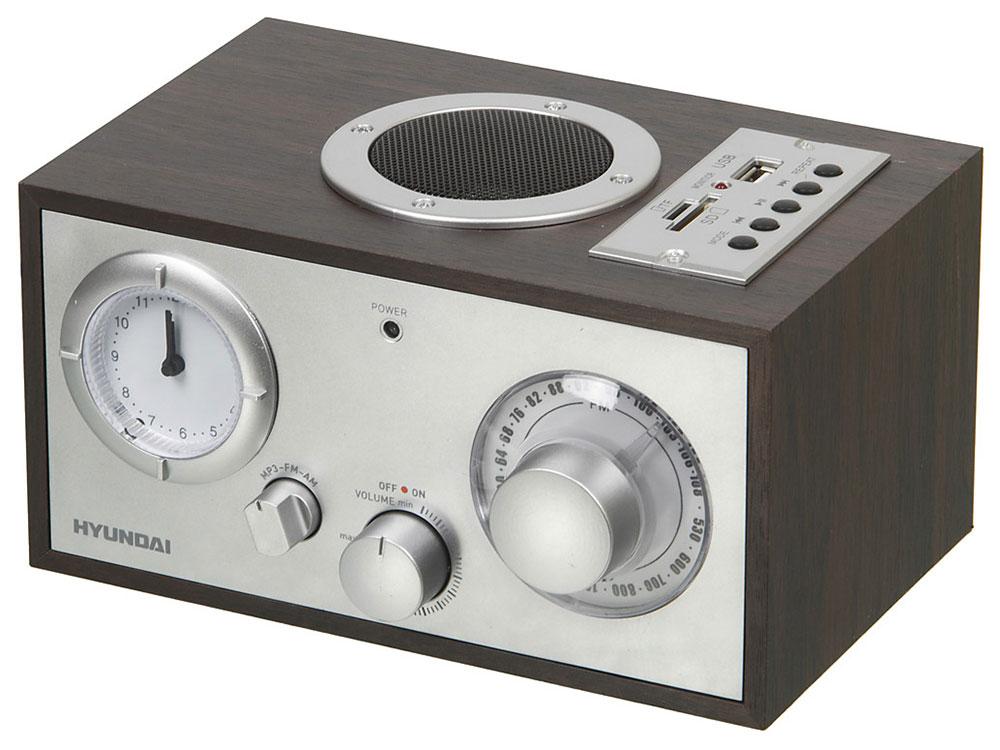 купить Радиоприемник Hyundai H-SRS220 вишня недорого