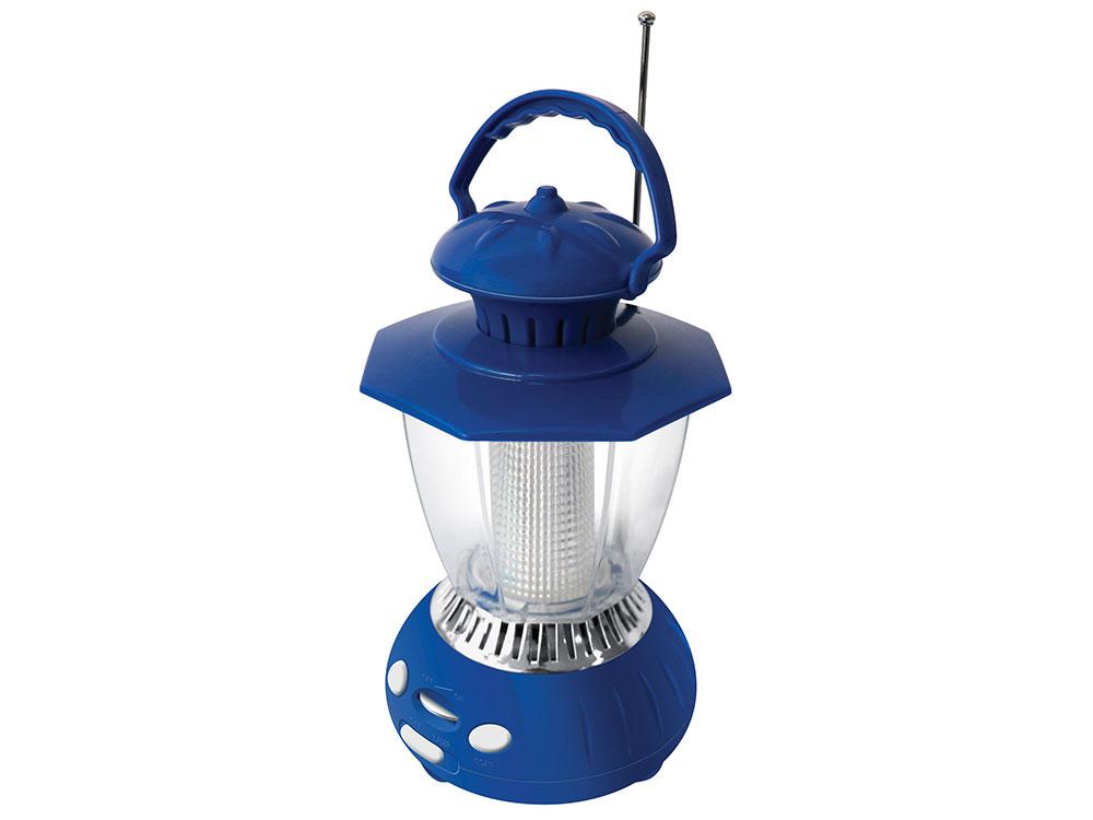 Радиоприемник Hyundai H-RLС120 синий цена и фото