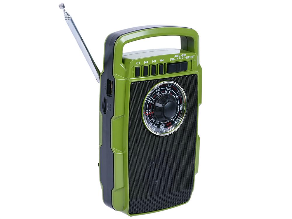 Радиоприемник MAX MR-322 Зеленый радиоприемник aeg mr 4139 bt черный