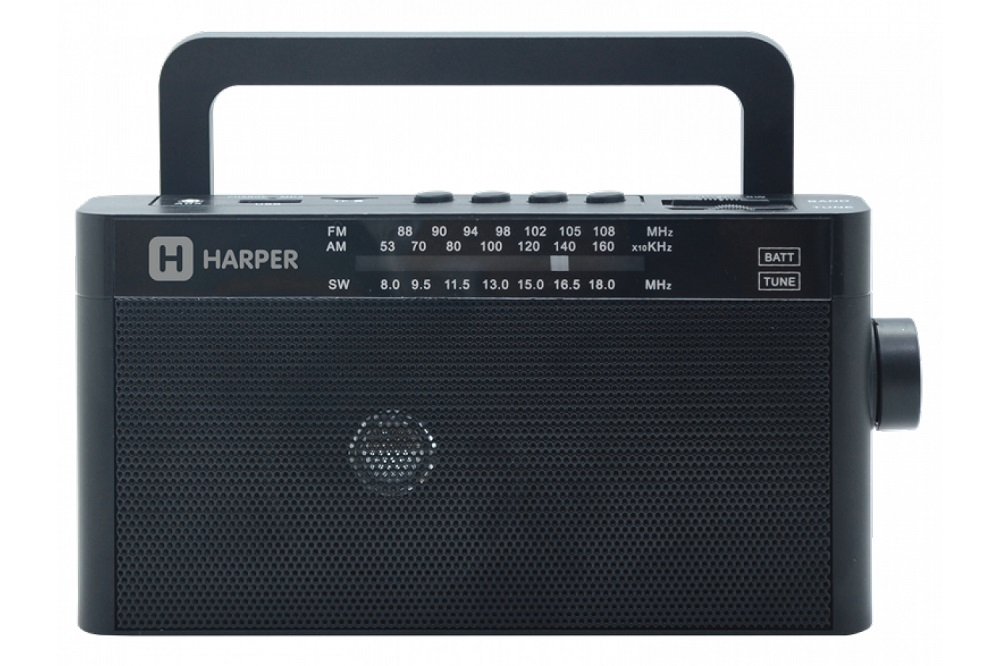 Радиоприёмник Harper HDRS-377 black цена в Москве и Питере