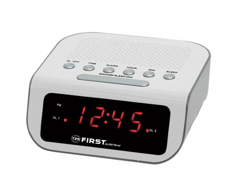Часы с радиоприёмником First 2406-1 аэрогриль галогеновый first 5030 1