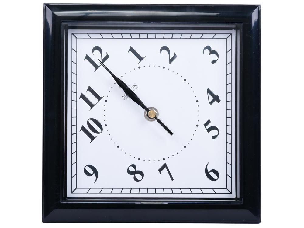 Часы настенные Вега П 3-6-51 чёрный часы настенные t weid хайтек baby 3 фоторамки 1030972