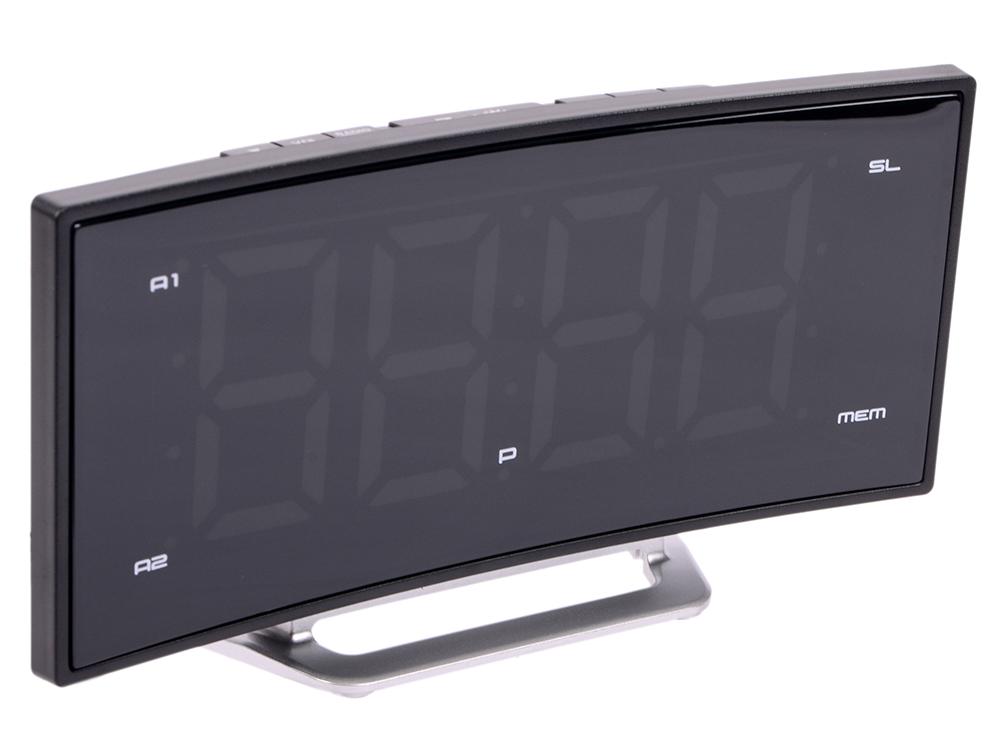 Часы с радиоприемником MAX CR-2906w часы с радиоприёмником max cr 2909 серебристый чёрный