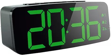 Фото - Часы с радиоприемником MAX CR-2913 Черные FM радио, LED дисплей джемпер max mara leisure max mara leisure ma196ewelxz0
