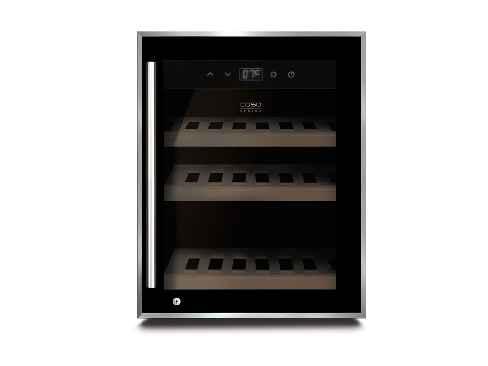 Винный шкаф CASO WineSafe 12 Black caso m20 electronic black