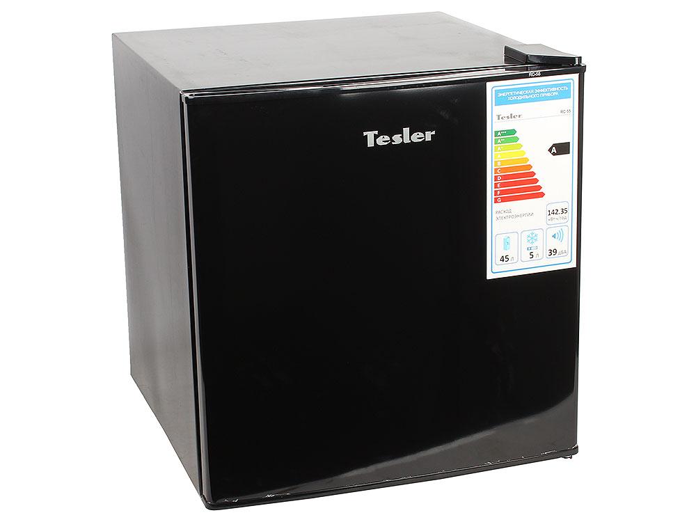 Холодильник TESLER RC-55 Black цена и фото