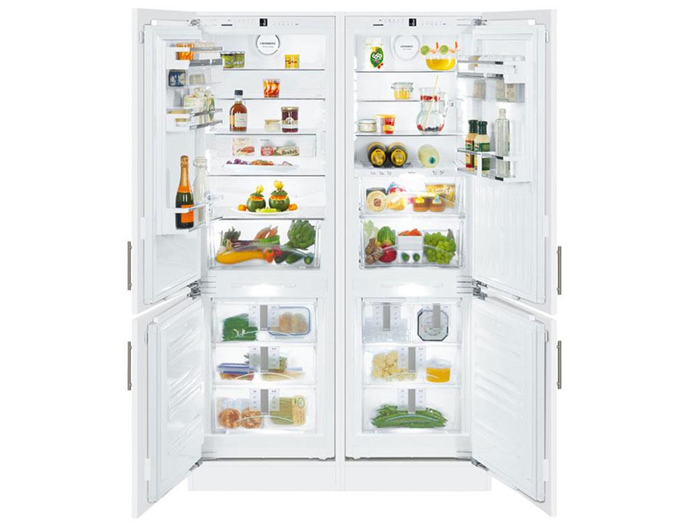 лучшая цена Встраиваемый холодильник Side by Side LIEBHERR SBS 66I3