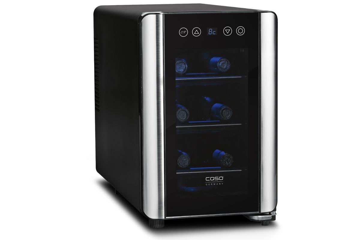 Холодильник CASO WineCase 6 черный caso b4 novea