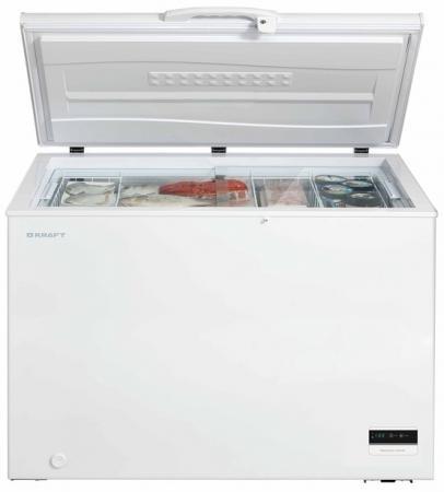 Морозильная камера Kraft BD(W)-275BLG белый цена