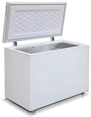 Морозильный ларь Бирюса 355VK морозильный ларь bravo xf 311 adg со стеклом