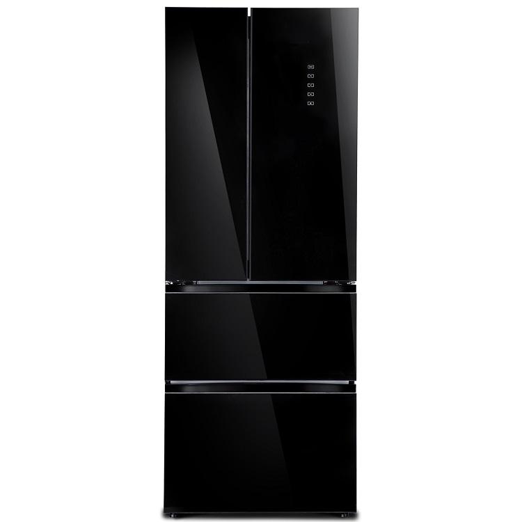 Холодильник Tesler RFD-360I Black Glass цена и фото