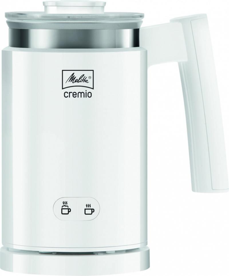 цены Вспениватель молока Melitta Cremio 2, чаша 250 мл, металл-пластик, белый