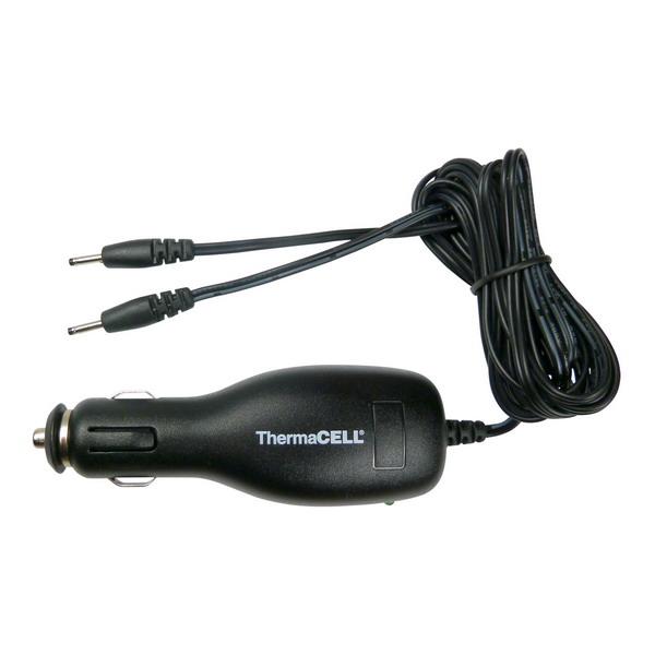 Зарядное устройство автомобильное для стелек с подогревом ThermaCell прогреваемые стельки со съемными аккумуляторами thermacell xxlarge