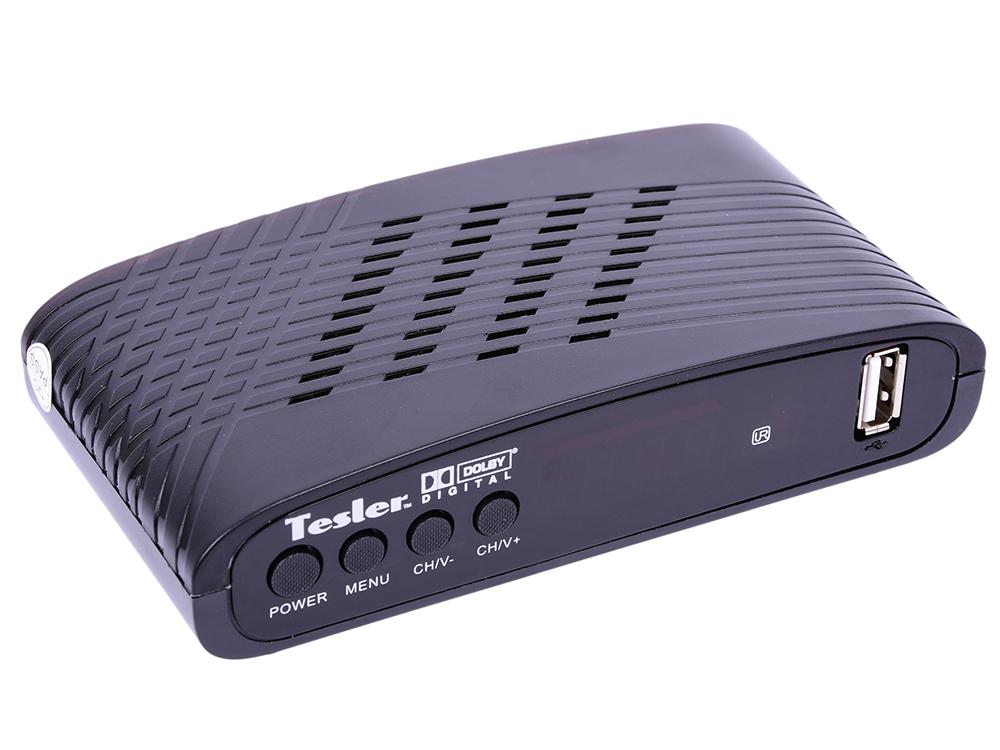 Цифровой телевизионный DVB-T2 ресивер Tesler DSR-770 недорго, оригинальная цена
