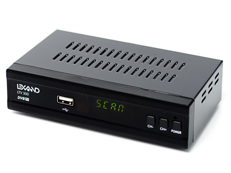 Цифровой телевизионный DVB-T2 ресивер Lexand LTV-300