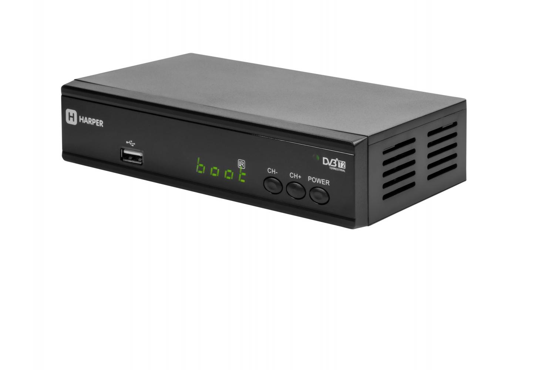 Ресивер DVB-T2 Harper HDT2-2030 Full HD цена и фото