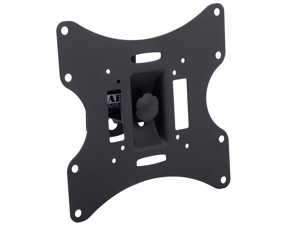 Кронштейн для телевизора Arm media LCD-201 10-37 Black настенный, наклонно-поворотный, VESA до 200x200, до 30 кг кронштейн для телевизора tuarex olimp 405 15 55 black настенный наклонно поворотный vesa до 400x400 до 30 кг