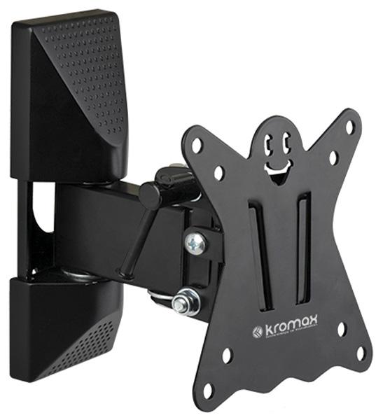 Кронштейн Kromax CASPER-102 Black Наклонно-поворотный для LED TV 10