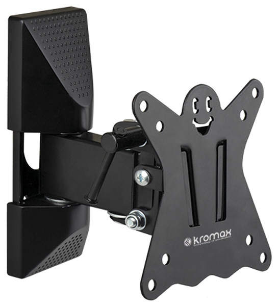 лучшая цена Кронштейн Kromax CASPER-102 Black Наклонно-поворотный для LED TV 10