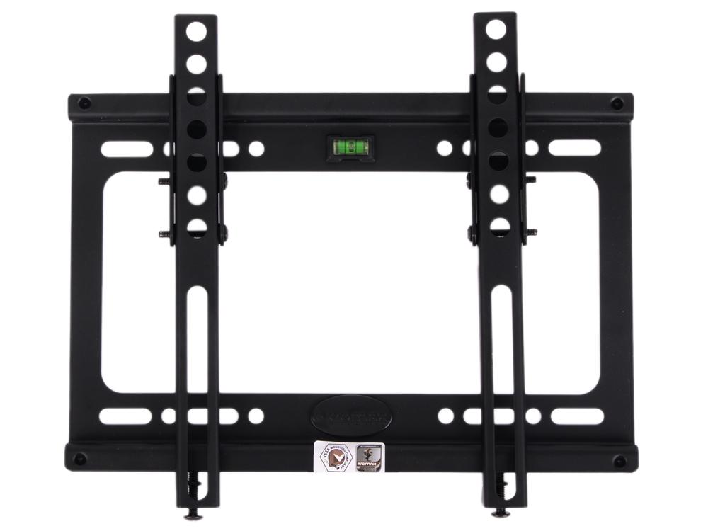 Кронштейн Kromax IDEAL-6 Back для LED/LCD/ TV 15-47, max 35 кг, настенный, 1 ст свободы, наклон 0°-15°, от стены 28 мм, max VESA 200x200 мм цена