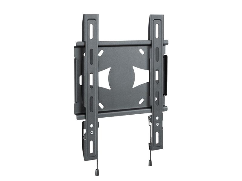 """Кронштейн для телевизора Holder LCDS-5045 19""""-40"""" Gray metallic настенный, фиксированный, VESA до 300x300, до 45 кг"""