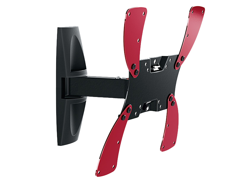 Кронштейн для телевизора Holder LCDS-5020 19-40 Black настенный, наклонно-поворотный, VESA до 300x300, до 30 кг