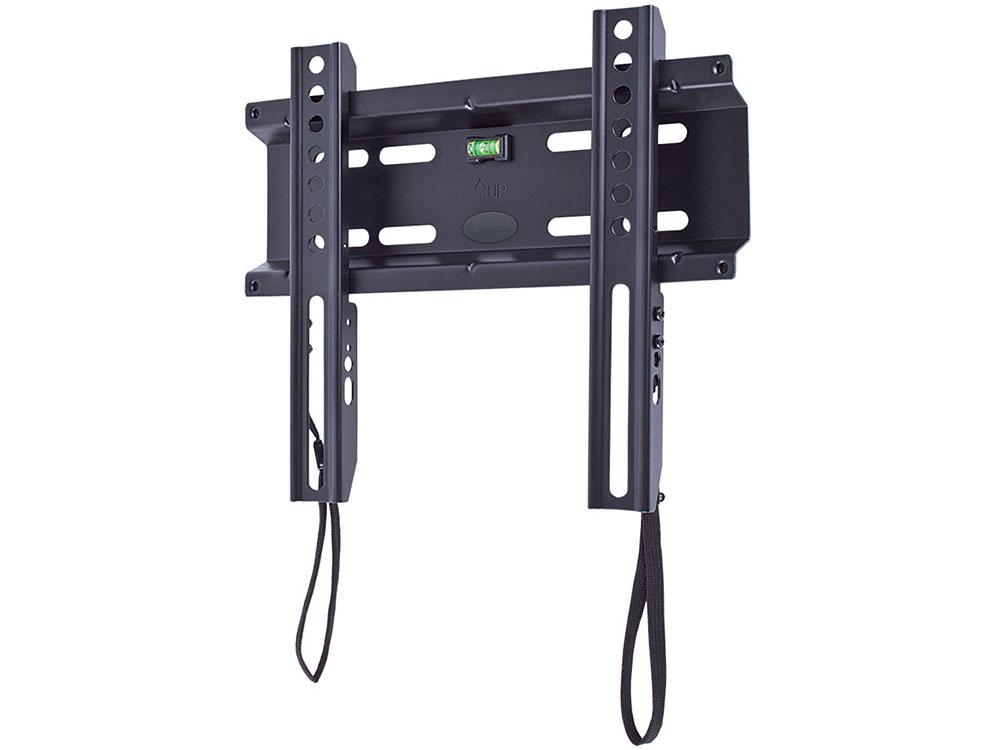 """Картинка для """"Кронштейн kromax FLAT-5 черный LCD/LED и плазма тв 15-40"""""""" настенный VESA 200x200мм"""""""
