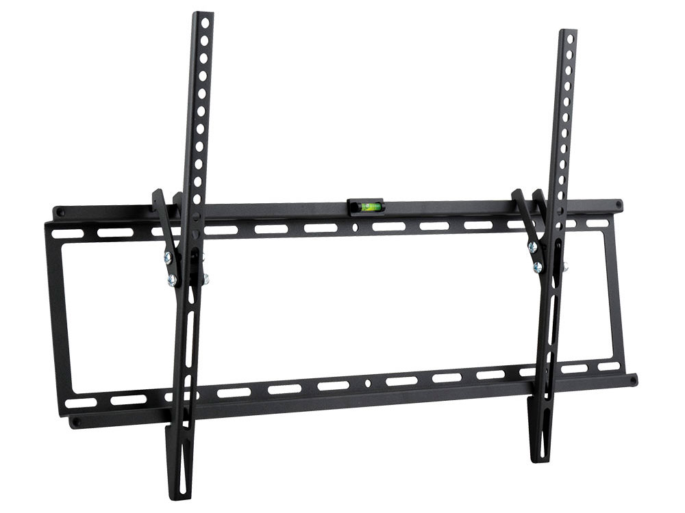 "Кронштейн Kromax IDEAL-2 Black настенный для TV 32""-90"", max 55 кг, 1 ст св., нак. 0°-10°, от ст. 23 мм, max VESA 600x400 мм"