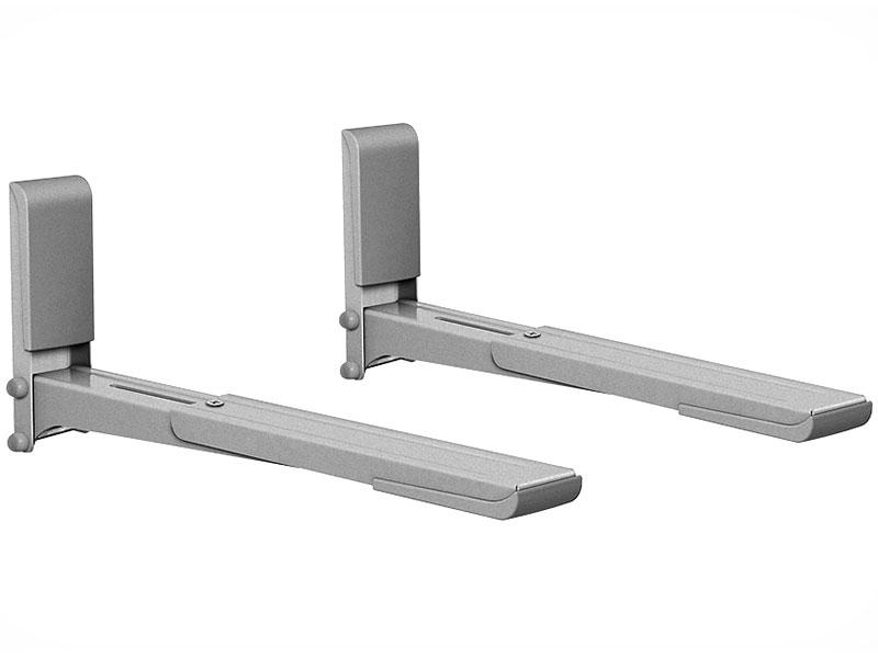 цена на Кронштейн для СВЧ-печей Holder MWS-2003 металлик max 40 кг настенный от стены 300-420 мм