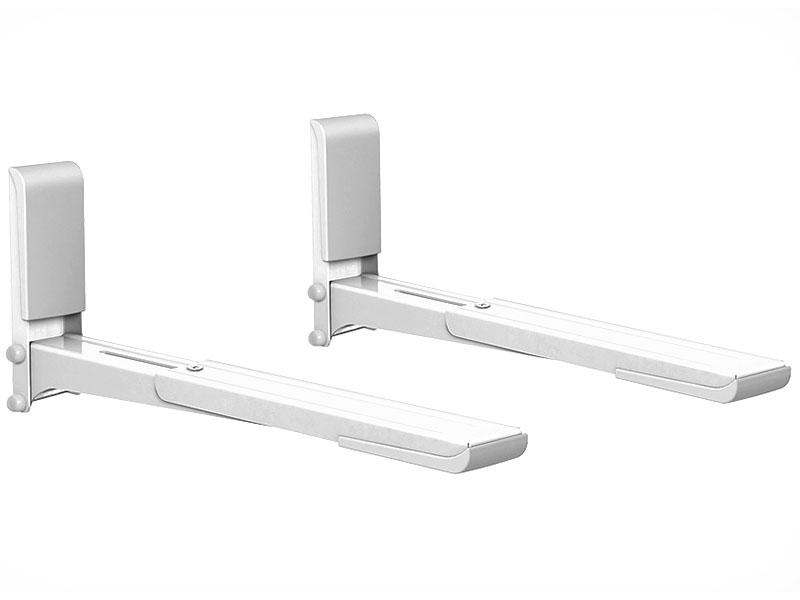 цена на Кронштейн для СВЧ-печей Holder MWS-2003 белый max 40 кг настенный от стены 300-420 мм