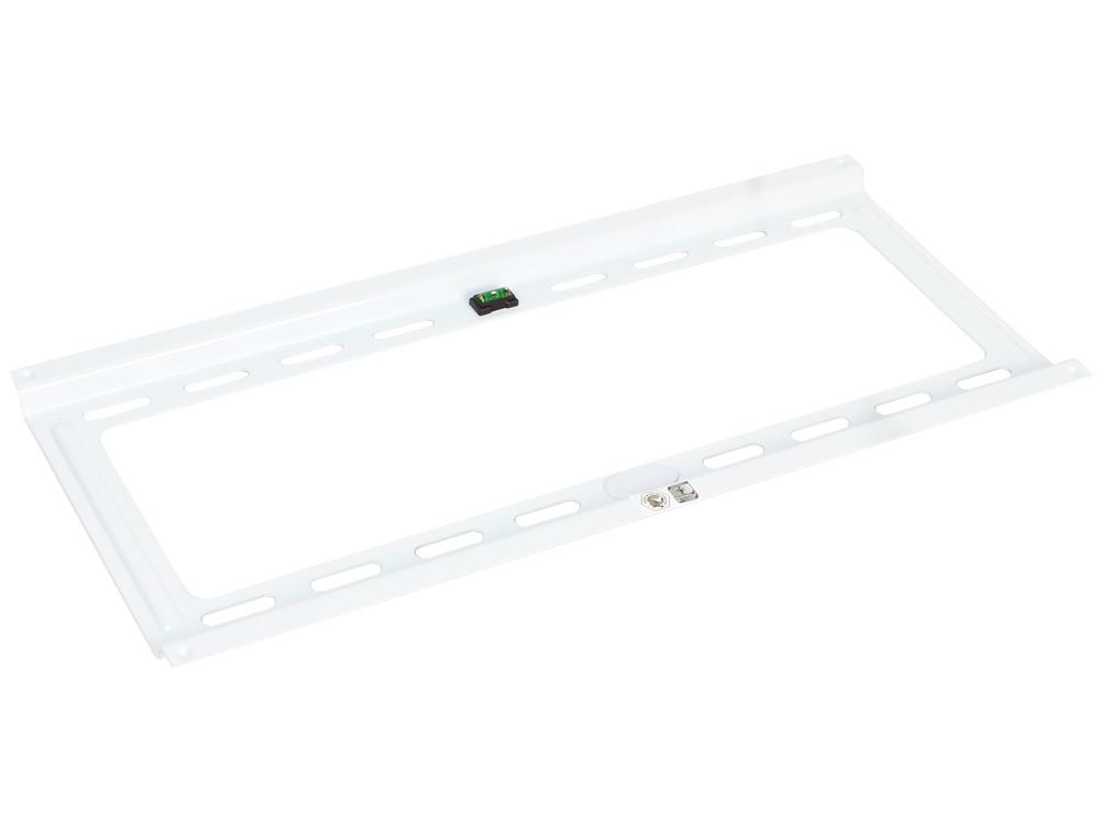 купить Кронштейн Kromax IDEAL-4 White настенный для TV 22-65, max 50 кг, 1 ст св., нак. 0°-10°, от ст. 23 мм, max VESA 400x400 мм дешево