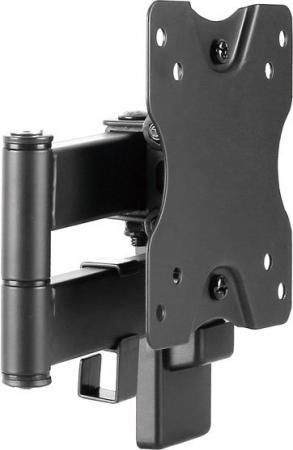 """Кронштейн Ultramounts UM861 черный 13""""-27"""" настенный от стены 50-263мм VESA 100x100 до 20кг"""