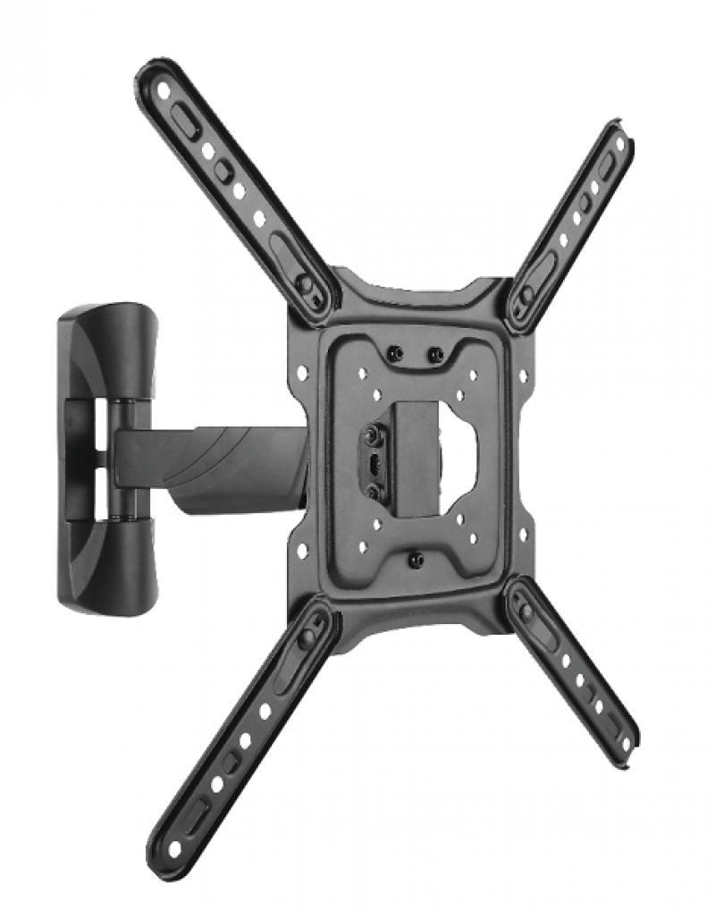 купить Кронштейн Ultramounts UM869 черный 23-55 настенный от стены 49-305мм VESA 400x400 до 35кг дешево