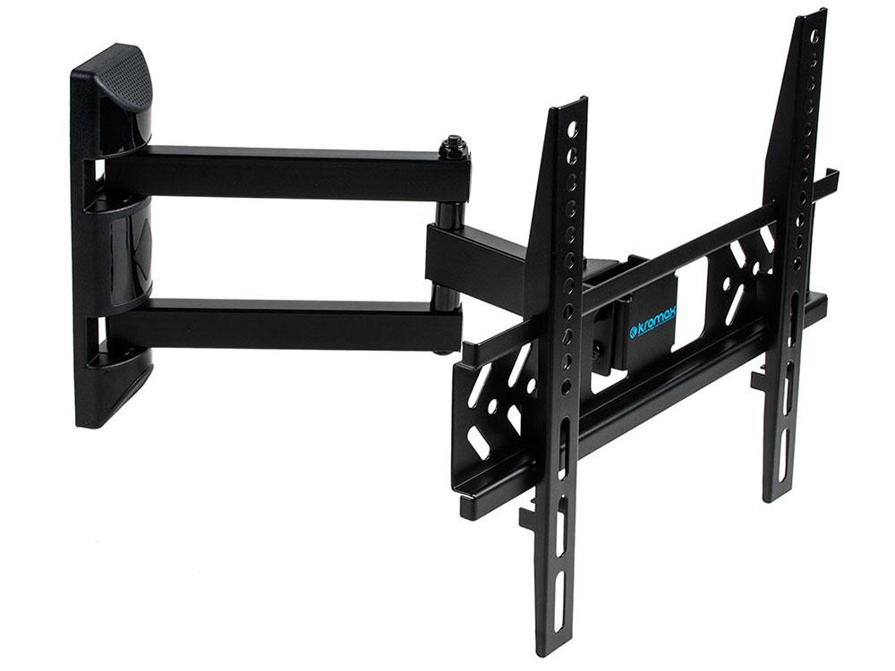 Фото - Кронштейн Kromax PIXIS-XS черный 22-55 настенный до 30кг кронштейн подставка kromax micro mono для dvd и av систем 5кг черный