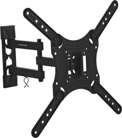 Кронштейн Ultramounts UM870 черный 23-55 настенный от стены 88-398мм VESA 400x400 до 30кг кронштейн rexant до 30кг 38 0310