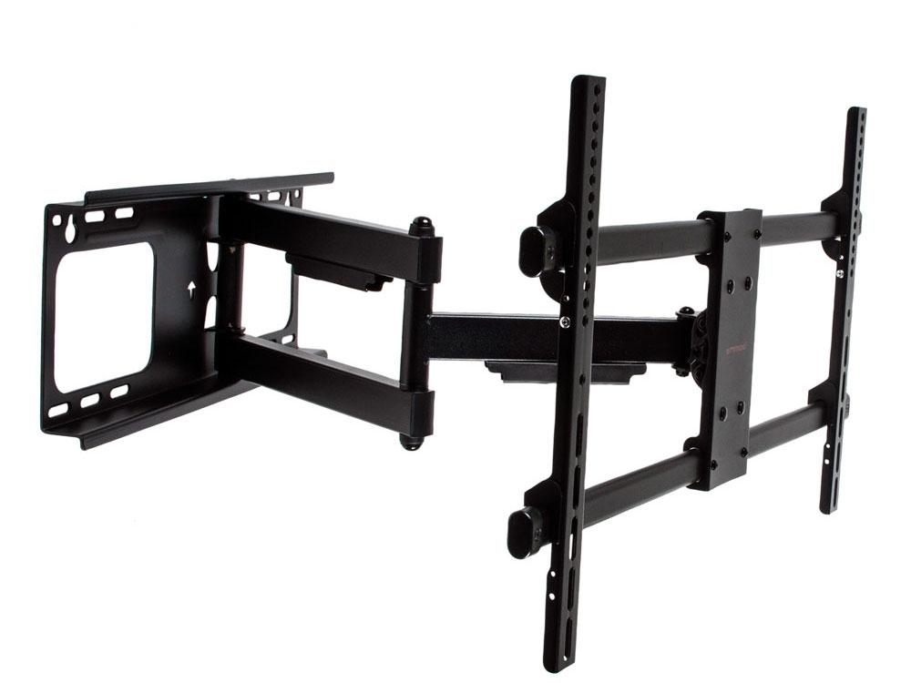 Кронштейн ARM Media Paramount-60 черный, для LED/LCD TV 26-75, max 60 кг, настенный, 5 ст свободы, от стены 69-615 мм, max VESA 600x400 мм кронштейн arm media lcd 7101 черный для lcd led тв 10 26 настенный 4 степени свободы vesa 75 100 max 15 кг