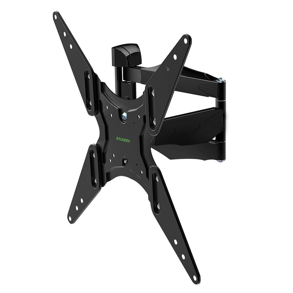Кронштейн Tuarex OLIMP-404 15-55 Black настенный, наклонно-поворотный, VESA до 400x400, до 35 кг