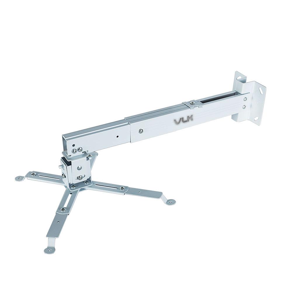 лучшая цена Кронштейн для проекторов VLK TRENTO-82w Белый настенный/потолочный, наклонно-поворотный, до 15 кг